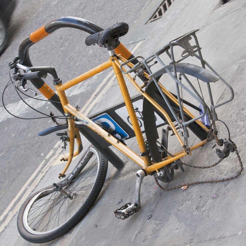 afgedankte fiets recyclen
